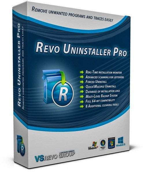 Revo Uninstaller Pro 3.1.8 (2017) Multi/Ukr