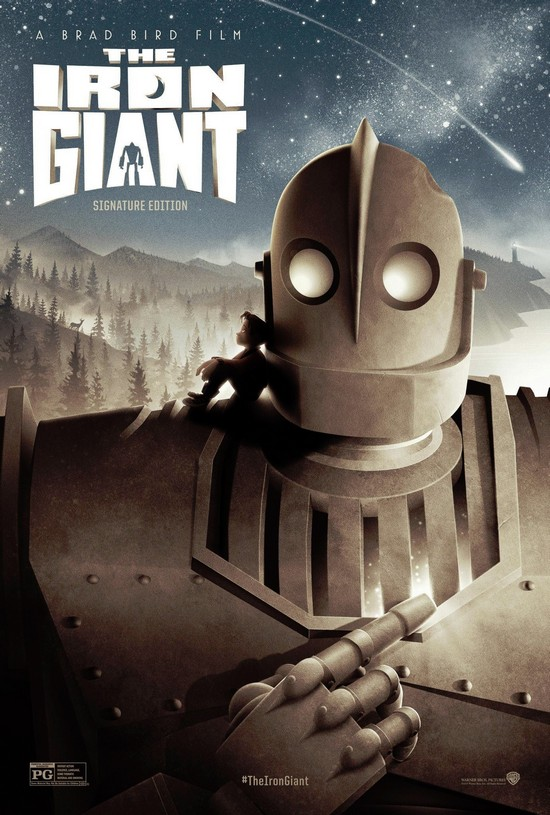 Залізний велетень / The Iron Giant [Signature Edition] (1999) 1080p Ukr/Eng | Sub Eng