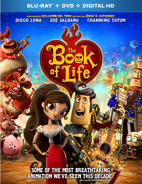 Книга життя / The Book of Life (2014) Remux 1080p Ukr/Eng | Sub Ukr/Eng