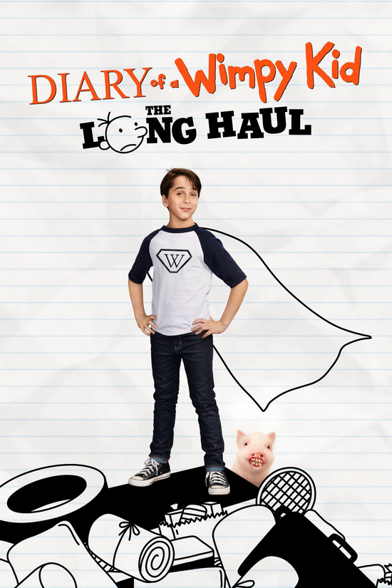Щоденник слабака 4: Довга дорога / Diary of a Wimpy Kid: The Long Haul (2017) Remux 1080p Ukr/Eng | Sub Ukr/Eng